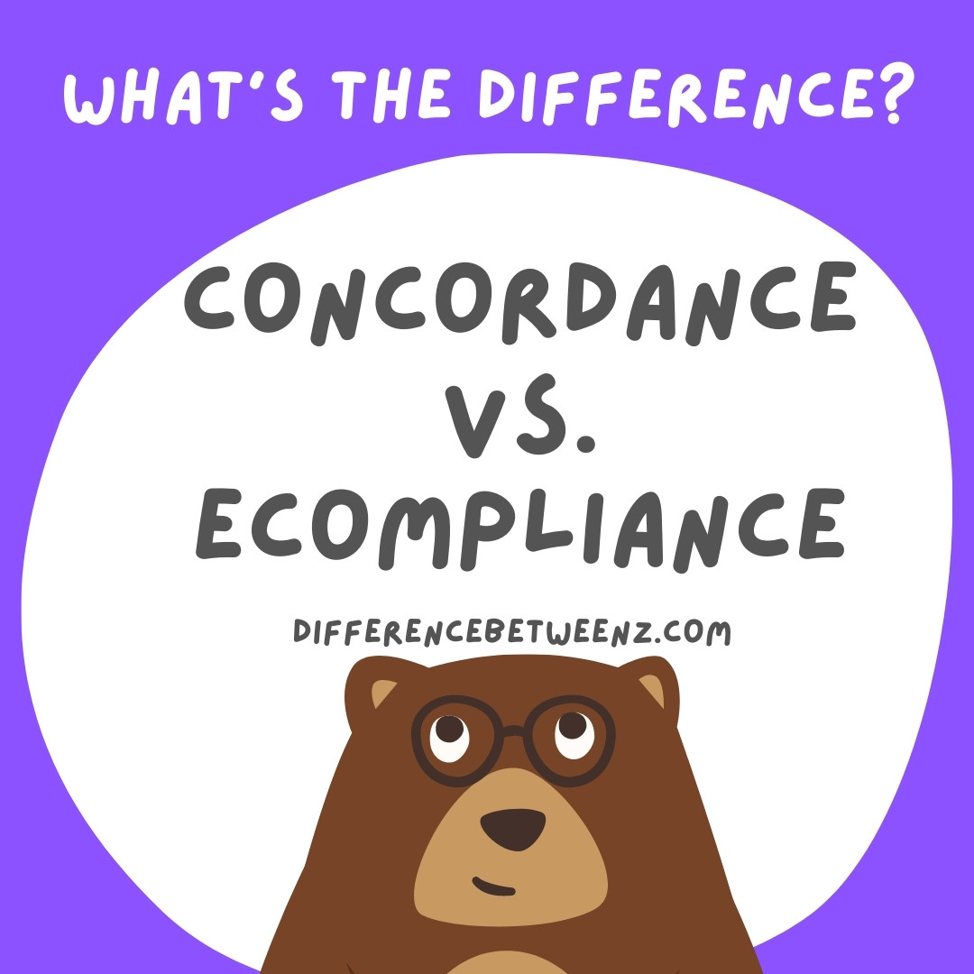 Difference Between Concordance And Compliance