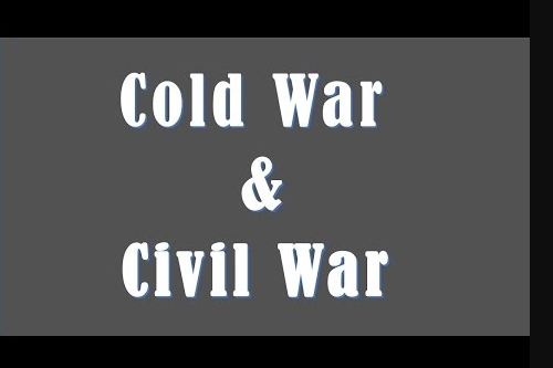 Difference between Cold War and Civil War