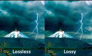 Difference between Lossy and Lossless Compression