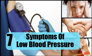 Difference between high blood pressure and low blood pressure