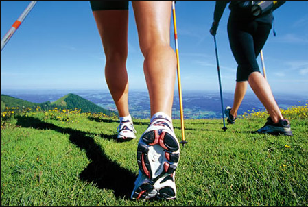 Differences between Walking and Hiking