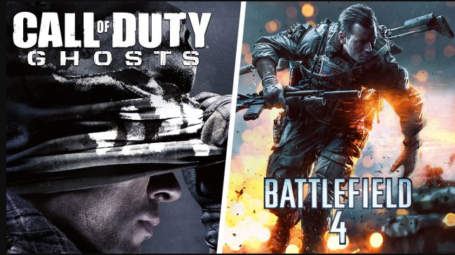 Difference between Call of Duty and Battlefield