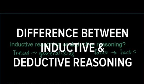 Difference between Inductive and Deductive Reasoning
