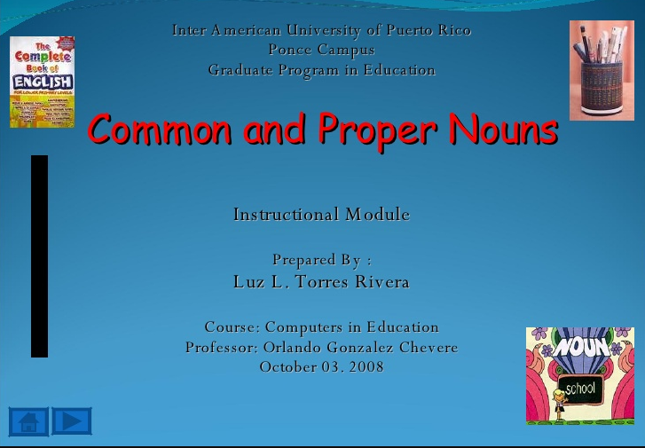 Difference between Proper Noun and Common Noun