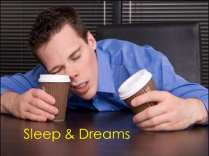 Difference between Sleeping and Dreaming