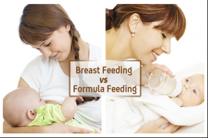 Difference between breast milk and formula milk