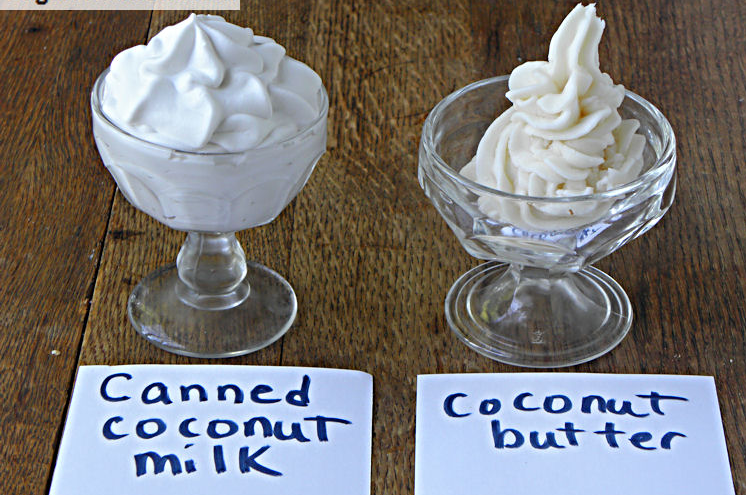 Difference between coconut milk and coconut cream
