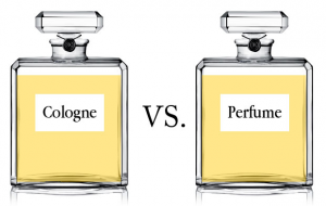 Difference between perfume and cologne