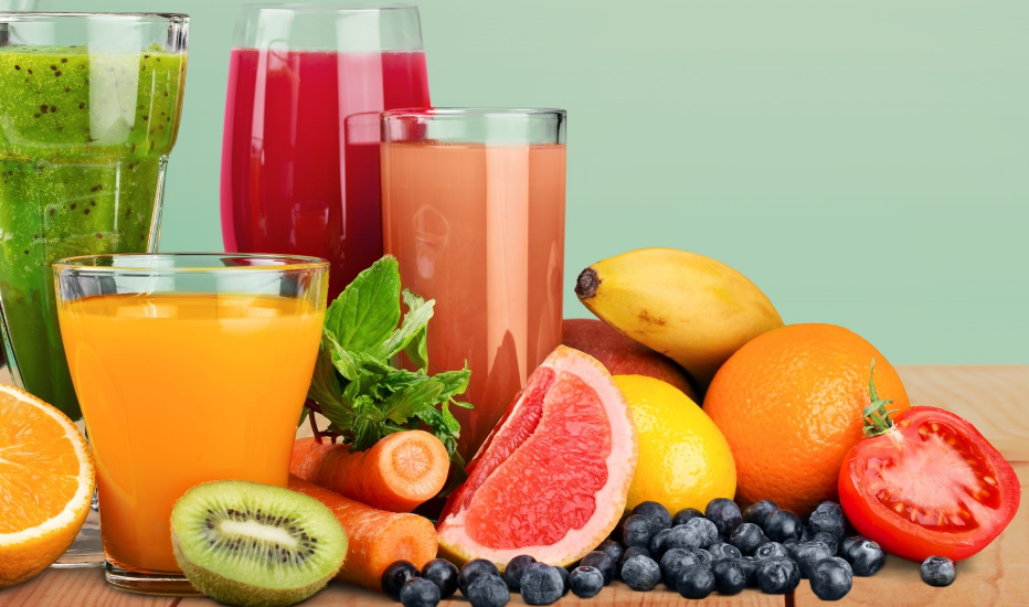 Difference between smoothies and juices