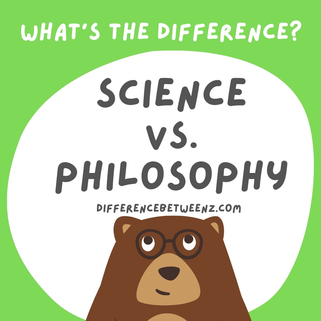 difference between science and philosophy