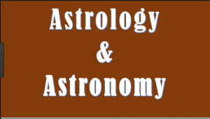 Difference between Astrology and Astronomy