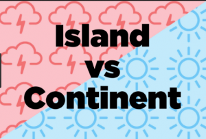 Difference between Island and Continent