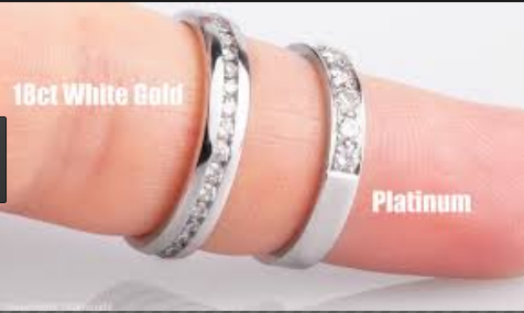Difference between Platinum and White Gold