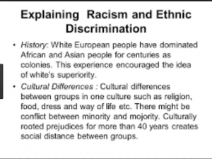Difference between Racism and Discrimination