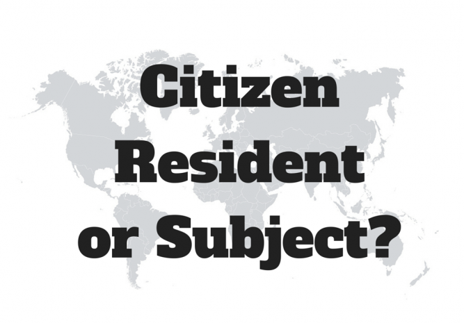 Difference between Residence and Citizenship