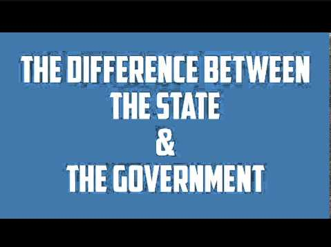 Difference between State and Government