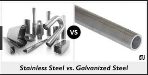 Difference between Steel and Stainless Steel