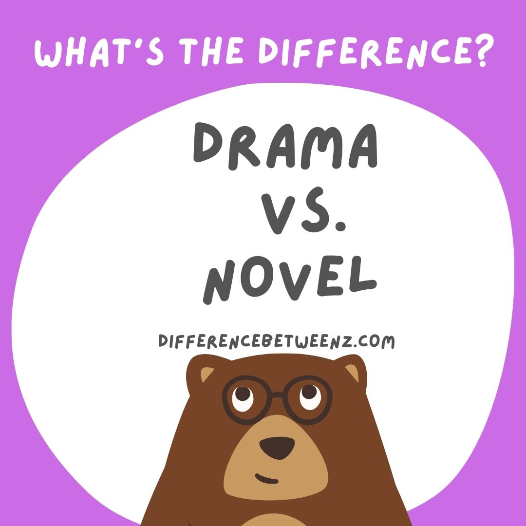 Difference between Drama and Novel