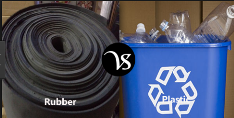 Difference between Rubber and Plastic