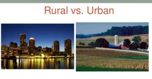 Difference-between-Rural-and-urban-life