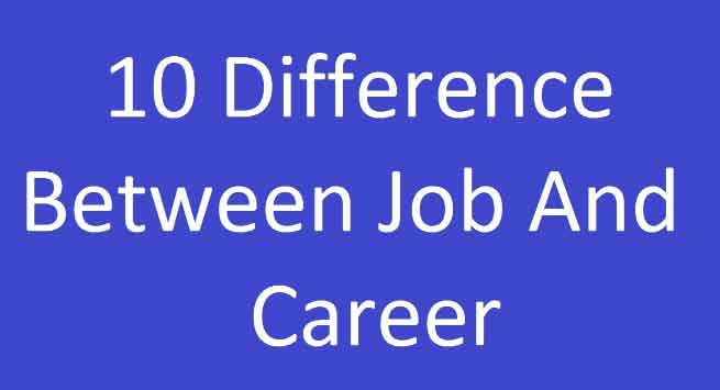 Difference-between-Job-and-Career