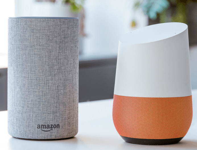 DIFFERENCE BETWEEN GOOGLE HOME & AMAZON ECHO