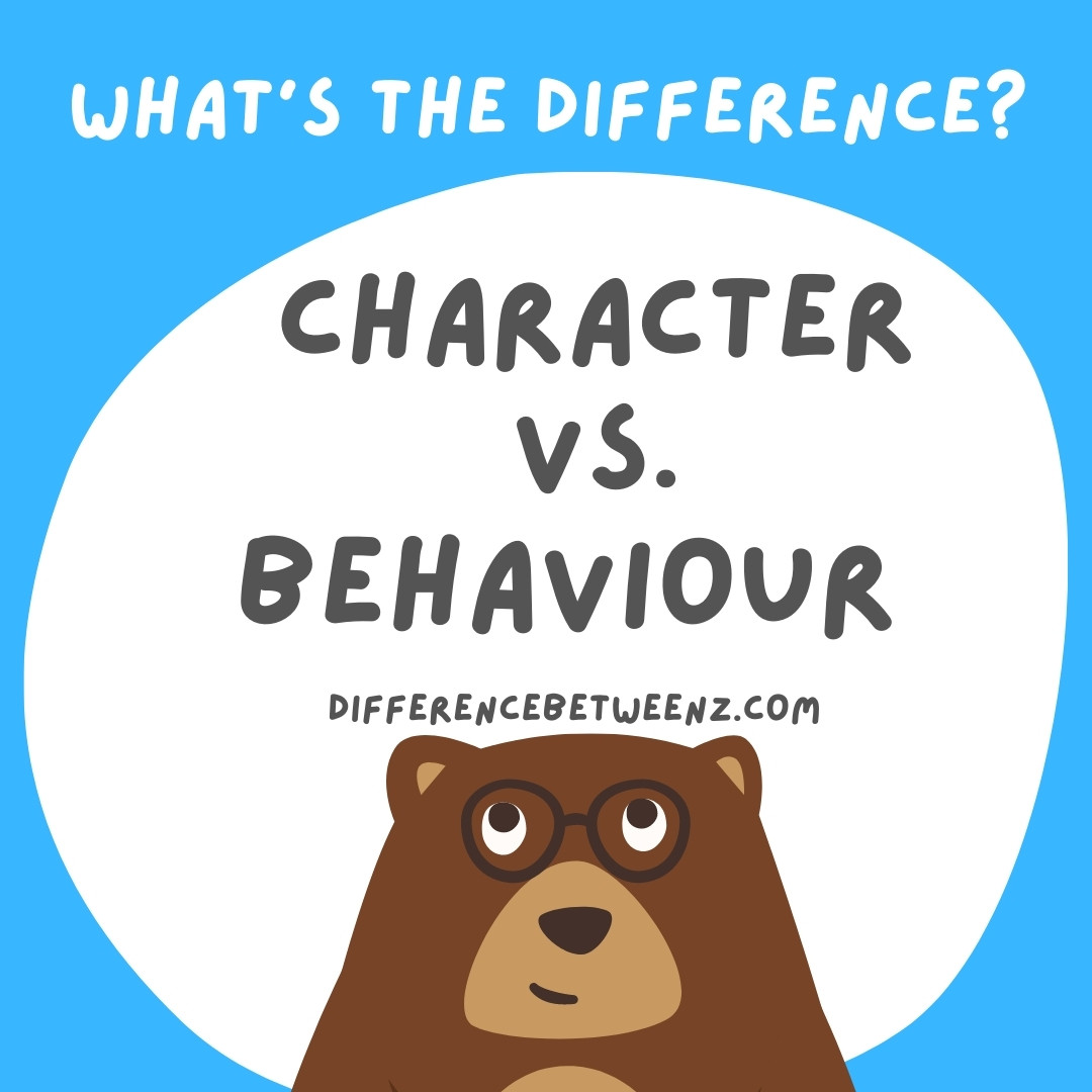 Difference between Character and Behavior