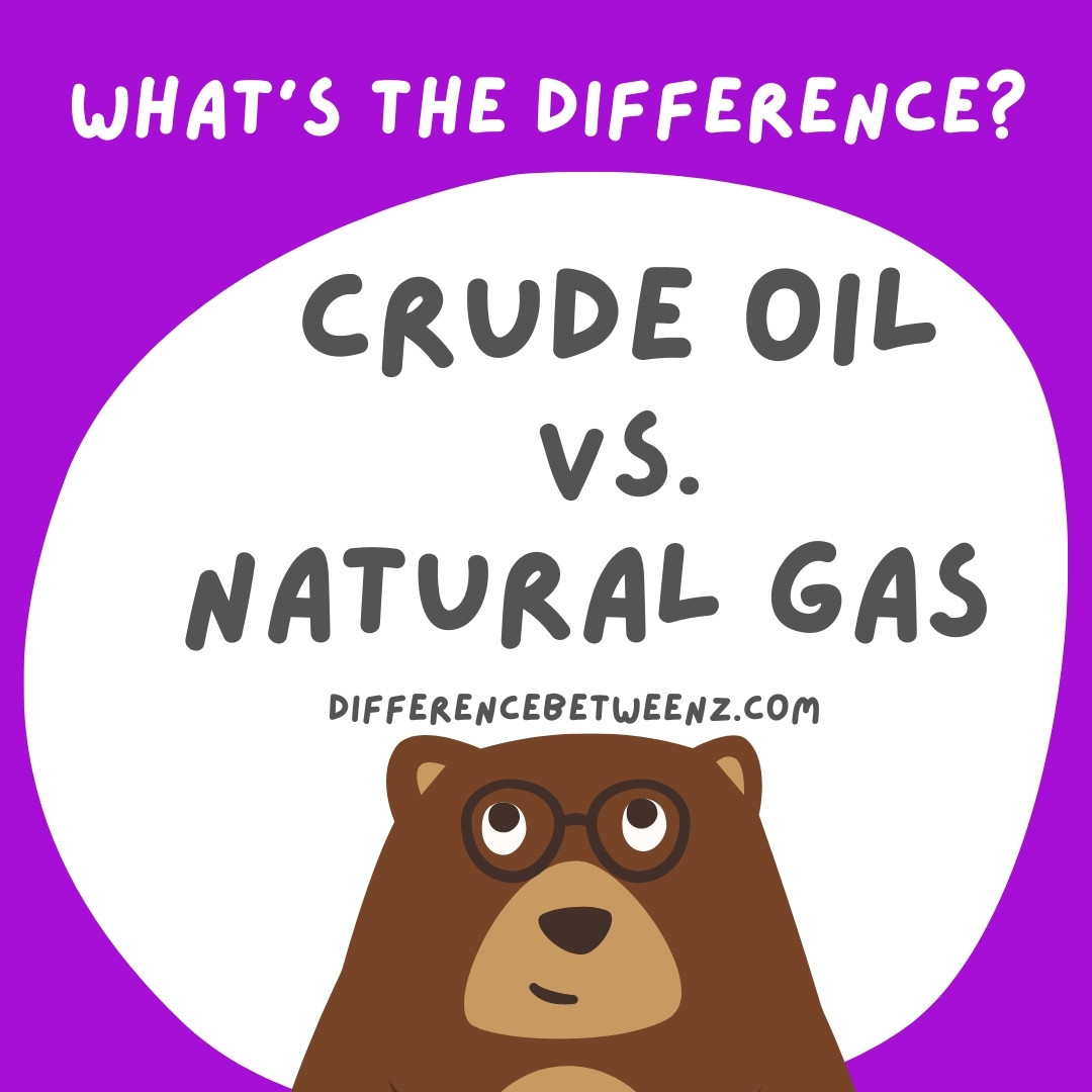 Difference between Oil and Natural Gas